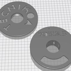Imprimir en 3D gratis MASTERSPOOL PARA FILAMENTO TECNIKOA., richarteam