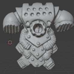 backpack.PNG Download free STL file Retro Space Warrior Backpack • 3D printable object, Mukksticky