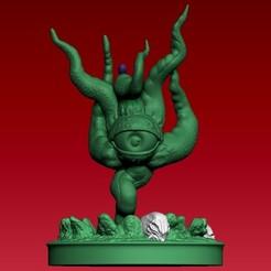01.jpg Download STL file shuma gorath • Object to 3D print, dragones_55555