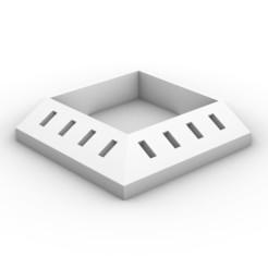 Download free 3D printer designs Flashdrive Organizer with Dish - Square Version, bm219