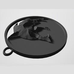 w1.jpg Télécharger fichier STL Le médaillon du loup du sorcier (version Netflix) • Design à imprimer en 3D, frankkahr89