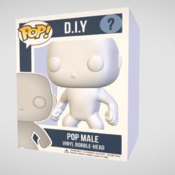 Anotación 2020-08-09 232906.png Télécharger fichier STL Funko Pop D.I.Y - Homme • Design à imprimer en 3D, Shadoway
