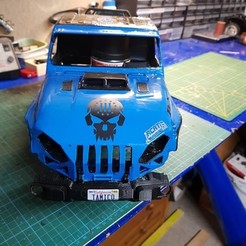 Download free 3D print files Wrangler_Grill_Böserblick, hellfish70