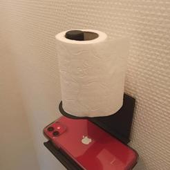 IMG_20201023_183247.jpg Télécharger fichier STL gratuit Toilet paper holder / Support de papier toilette • Design à imprimer en 3D, Mr_Spok_