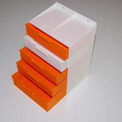 Télécharger fichier STL gratuit Tiroirs / Drawers • Modèle à imprimer en 3D, steevebecker