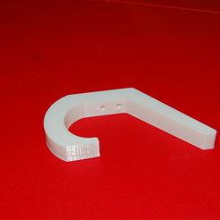 Descargar modelo 3D gratis Gancho para abrigos de pared, steevebecker
