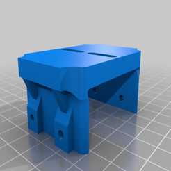 Descargar modelo 3D gratis Montura de láser de foco fijo de 15W para el cortador grabador láser 6550, steevebecker