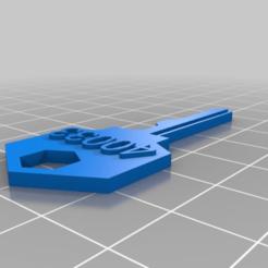 Descargar STL gratis Mi generador de llaves Slide Blade personalizado, steevebecker