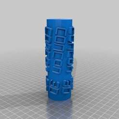 Download free 3D printer model My Customized Text Paint Roller, steevebecker