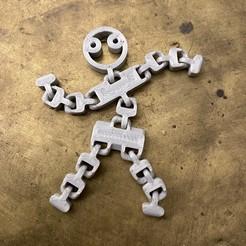 Descargar diseños 3D gratis El pequeño hombre articulado, Kangoo-roo