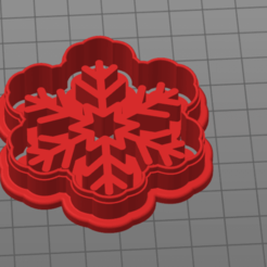 snowfall 2.png Download STL file snowfall 2 • 3D printing template, 1881