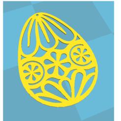 Descargar archivos 3D gratis huevo de pascua, aklevapik