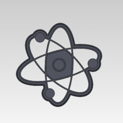 Captura de pantalla 2020-12-09 165549.png Download STL file Atom Cookie Cutter • 3D printable object, gabicampo17