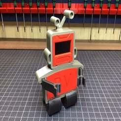 Télécharger plan imprimante 3D gatuit Robot espion, KVEL