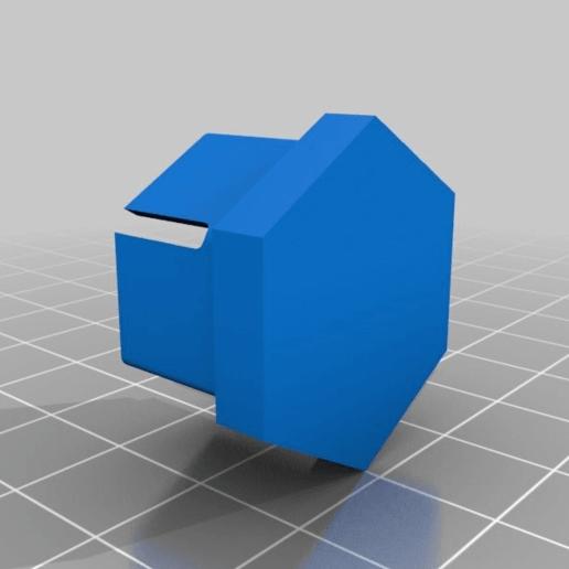 Download free STL file Peugeot 18mm wheel bolt cap • Template to 3D print, KVEL