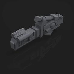 Download 3D printing files T'au Commander Battle-suit Weapon Option, hpbotha