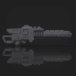 Download 3D printer designs T'Au Experimental Weapon, hpbotha