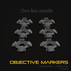 Download 3D print files Warhammer 40K Objective Marker, hpbotha