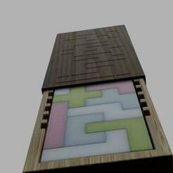 katamino.jpg Download STL file katamino puzzle game • 3D printable design, benj2365