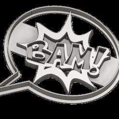 emporte piece bam v1.png Télécharger fichier STL Emporte-pièce BD • Plan à imprimer en 3D, dodey_57