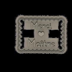 merci maitre v1.png Download STL file Punch thank you master • 3D printer model, dodey_57