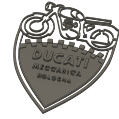 Download 3D print files Ducati plate, dodey_57