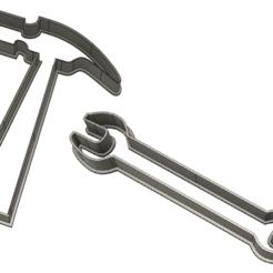 emportepiece marteau.png Télécharger fichier STL Emporte-pièce outils • Design pour imprimante 3D, dodey_57