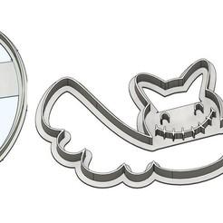 emporte pièce fantome v1.jpg Download STL file Halloween Punch x2 • 3D printer template, dodey_57
