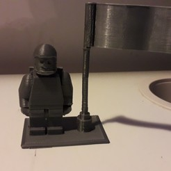Download free STL file Lego minifigure space • 3D print template, v12game03