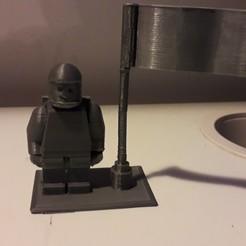 Télécharger fichier 3D gratuit Lego minifigure space, v12game03
