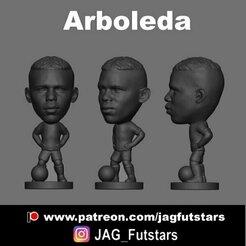 Arboleda.jpg Download STL file Robert Arboleda - Sao Paulo - Minicraque - Futebol • 3D print template, jagfutstars