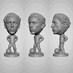 Descargar Modelos 3D para imprimir gratis Marquinhos - PSG - Brasil - Figura de fútbol, jagfutstars