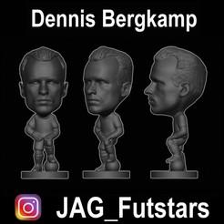 Download free 3D printing models Dennis Bergkamp - Soccer Figure, jagfutstars