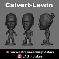 Carlvert-Lewin.jpg Download STL file Calvert-Lewin - Soccer - Everton  • 3D printable template, jagfutstars
