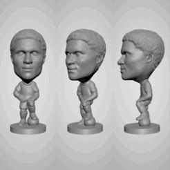 Download free 3D printing files Eusebio - Portugal Legend - Soccer Figure, jagfutstars