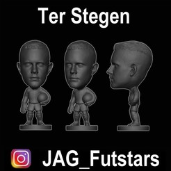 Ter Stegen.jpg Download free STL file Ter Stegen - Soccer STL • 3D printer object, jagfutstars