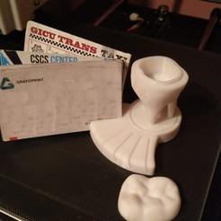 Télécharger fichier 3D gratuit Logo de la dent pour le détenteur de la carte de visite, ciprian_xro