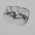 Download free 3D printing templates Tooth logo for business card holder, ciprian_xro