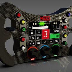 "Download STL file HTEK GTE with 4.3"" display • 3D printing object, HTEK_Simulator_Engineering"