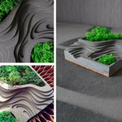 Descargar modelos 3D maceta por capas, waldoteli2392