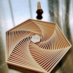 Télécharger fichier STL gratuit Des hexagones satisfaisants • Plan à imprimer en 3D, tmcgillis