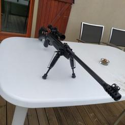 IMG_20201107_142335.jpg Download STL file bipod lead rifle • 3D printer design, tomasz76