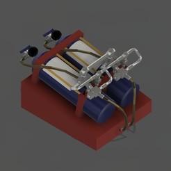 Télécharger fichier STL bouteille kit nitro modelisme • Plan pour impression 3D, tomasz76