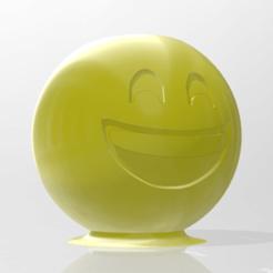 contenedor1.png Download STL file Emoji Container • 3D printable model, Delta3Design