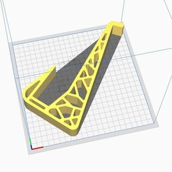 """Stand_Ender3Pro.jpg Download STL file Universal Laptop Stand - Supports 17"""" Gamings Too • 3D printer design, Yeva3D"""