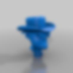 Heisenberg_Pop.stl Télécharger fichier STL gratuit Heisenberg Pop • Plan à imprimer en 3D, evilchart