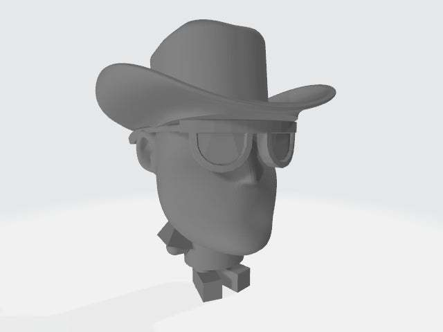 Heisenberg_Pop.jpg Télécharger fichier STL gratuit Heisenberg Pop • Plan à imprimer en 3D, evilchart