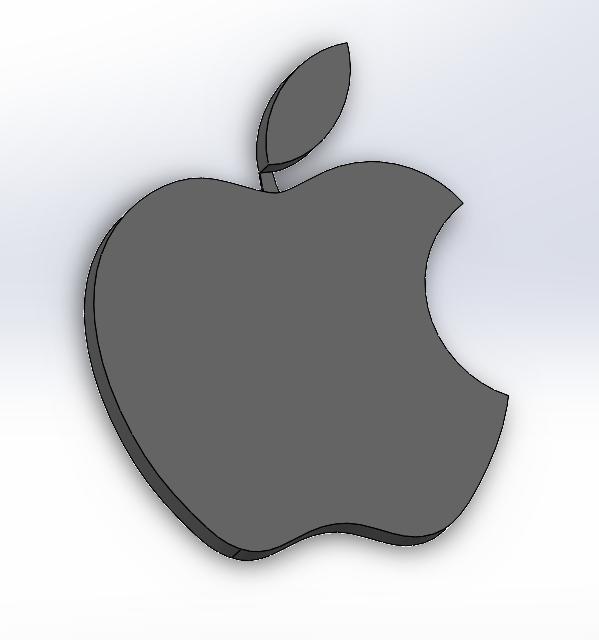 Screenshot_1.png Download gratis STL-bestand Apple-logo • 3D afdrukbaar model, LayBraid