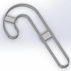 Screenshot_105.png Télécharger fichier STL gratuit Cookie Cutter | Candy cane • Modèle à imprimer en 3D, LayBraid