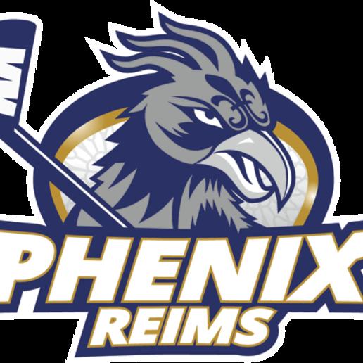 Download 3D print files REIMS phoenix logo, xfiregaming